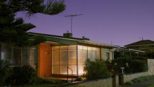 Haus Dämmerung Beleuchtung