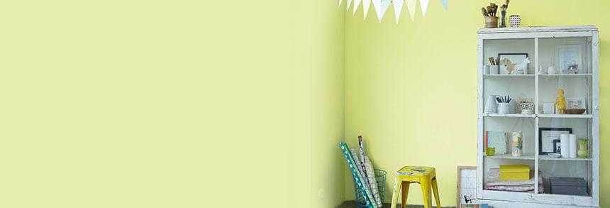 AuBergewohnlich Farb Inspiration Wandfarbe Gelb