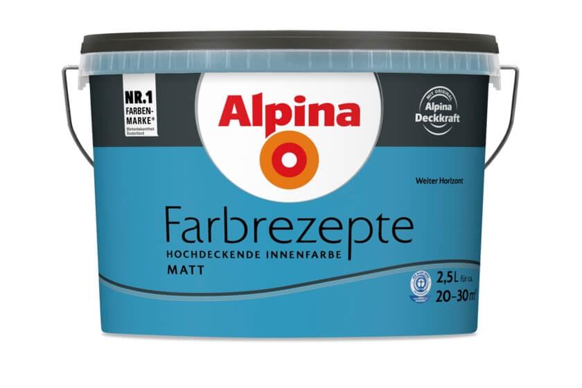 """Alpina Farbrezepte """"Weiter Horizont"""""""