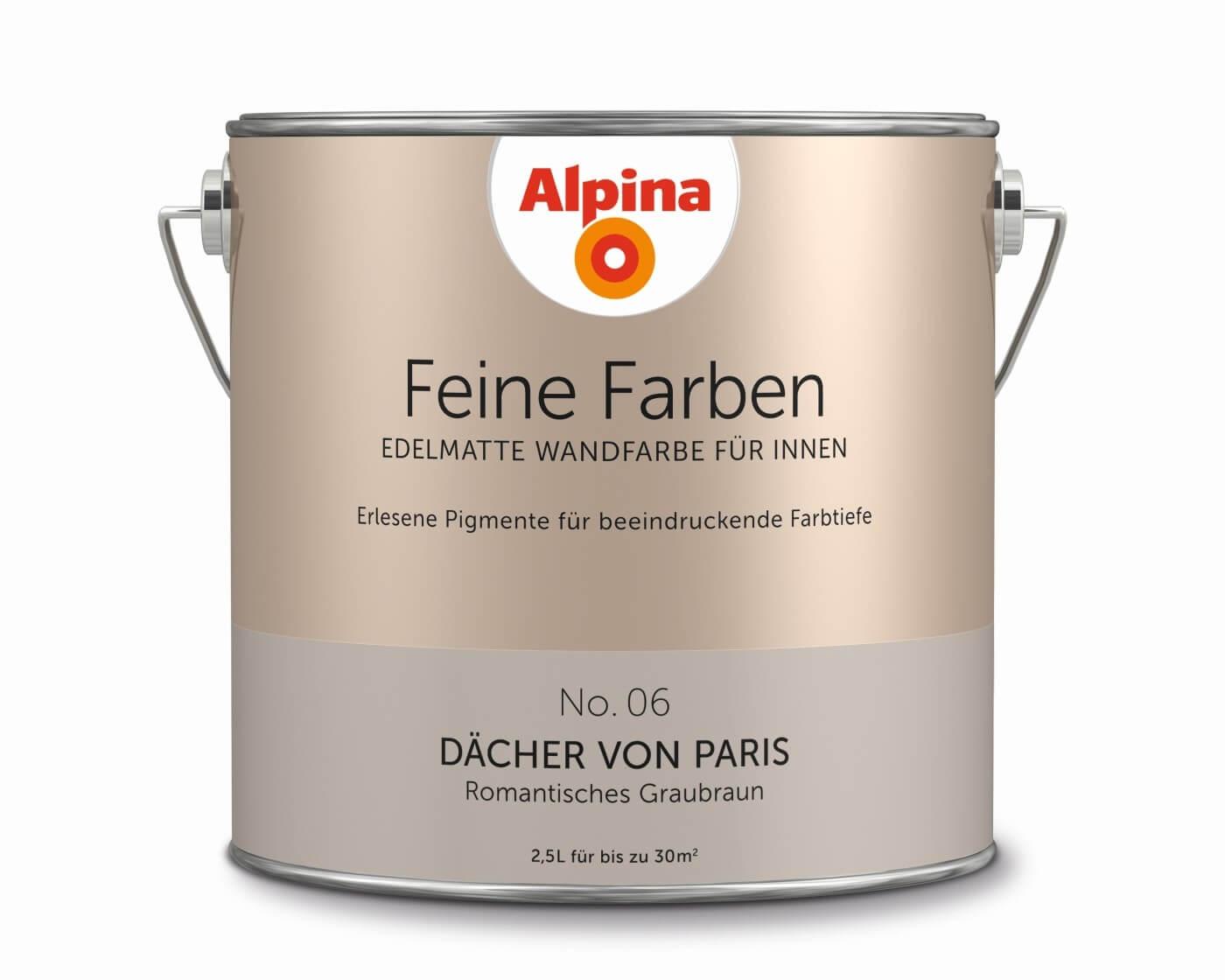 """Alpina Feine Farben """"Dächer von Paris"""""""
