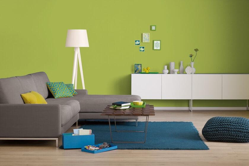 Trendfarbe Grün