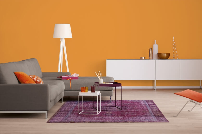 Trendfarbe Orange