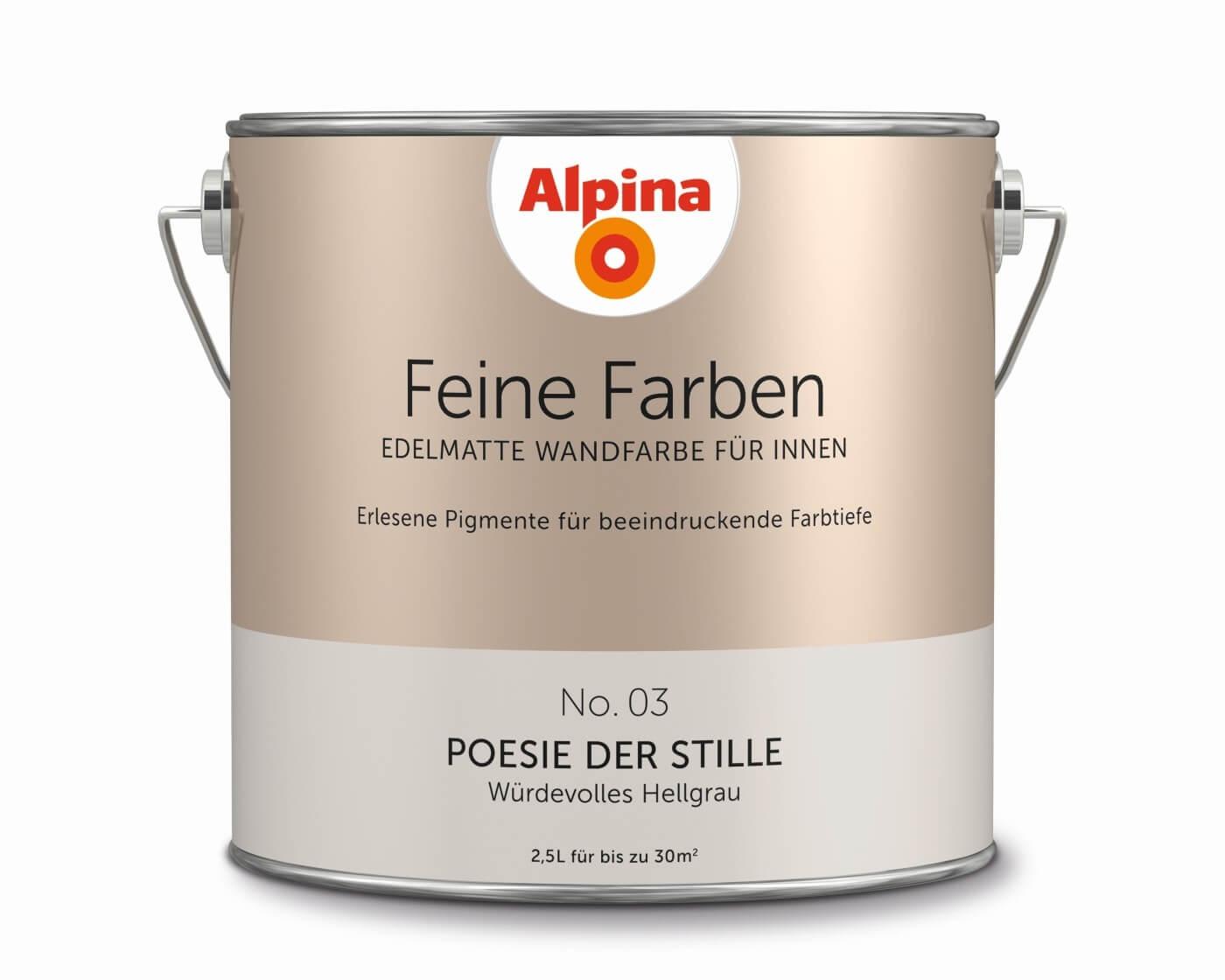 """Alpina Feine Farben """"Poesie der Stille"""""""