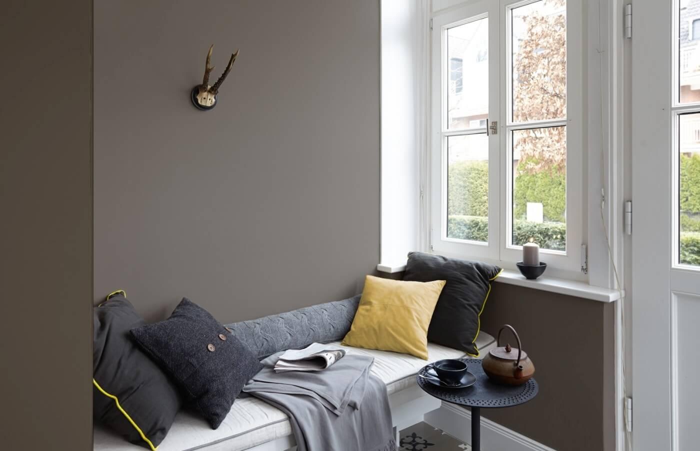 Neu wandfarben trends wandfarben ideen gestaltungs tipps - Farbe grun schlafzimmer ...