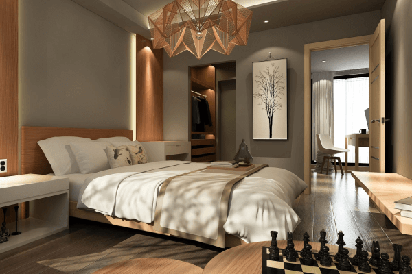 Gestaltungs-Ideen für das Schlafzimmer << Wandfarben