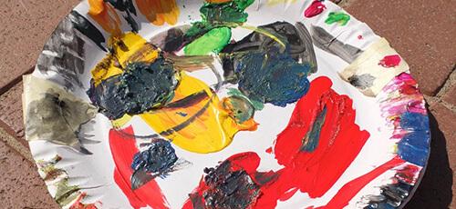 Wandfarbe mischen Tipps