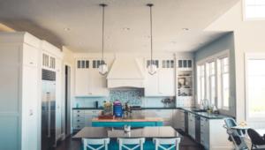 Für die Küche eine Wandfarbe finden