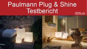 Paulmann Plug Shine Test