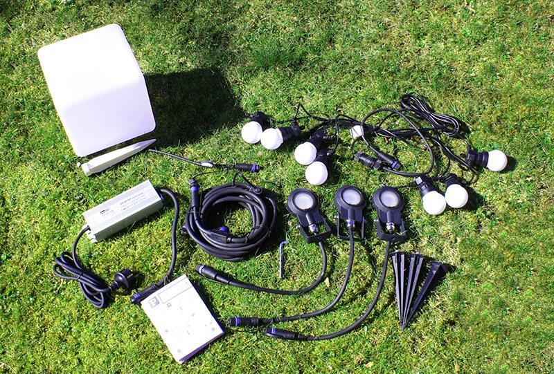 Zusammenstellung System Plug Shine Test