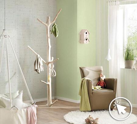 Kinderzimmer-Tapete > Ideen für Kindertapete HIER!