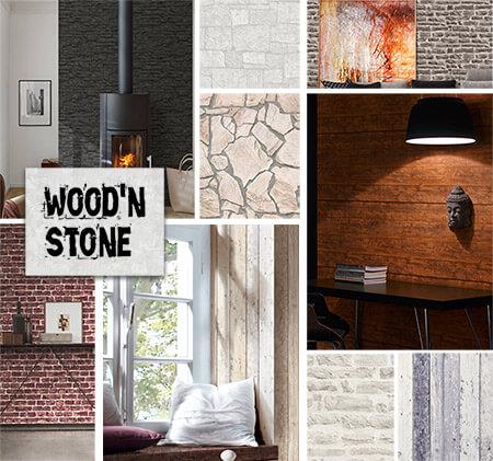 Tapete für\'s Wohnzimmer >> Wohnzimmertapeten Trends