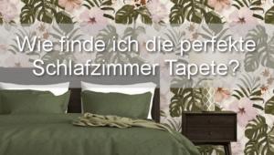 Schlafzimmer Tapete Tipps & Tricks