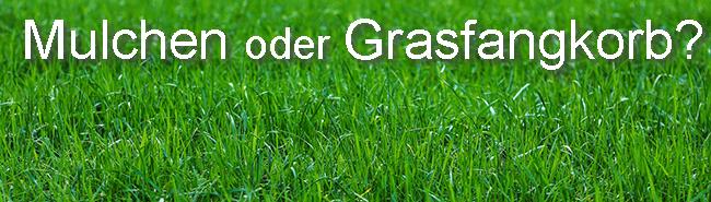 Mulch Grasfangkorb was besser