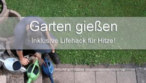 Garten gießen Tipps