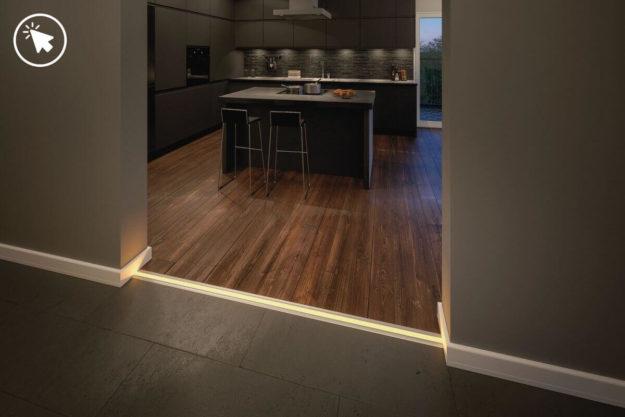 DIY Idee für die Küche Indirekte Beleuchtung | Led