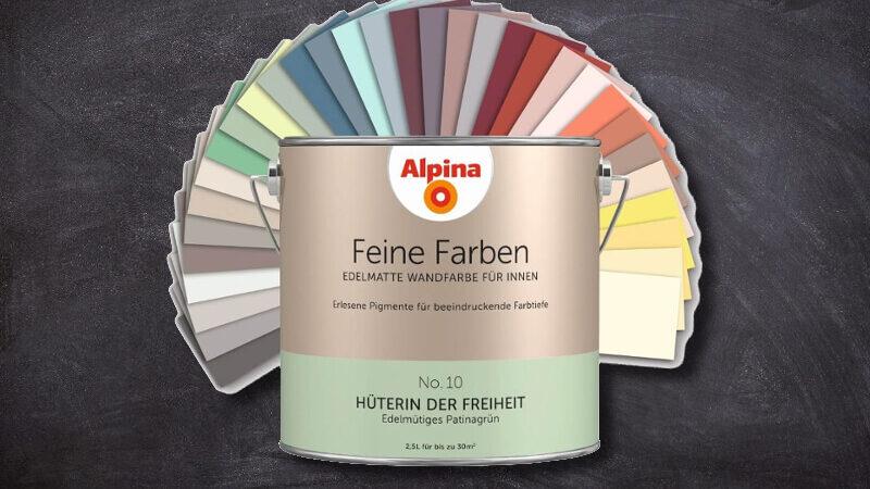 Alpina Feine Farben | Besondere Wandfarben für Innen