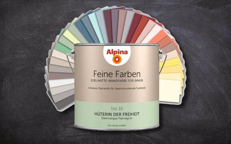 Alpina Feine Farben Die Besonderen Wandfarben Mit Charakter