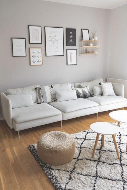 Hellgrau Als Wandfarbe Tipps Und Kombinationsmoglichkeiten