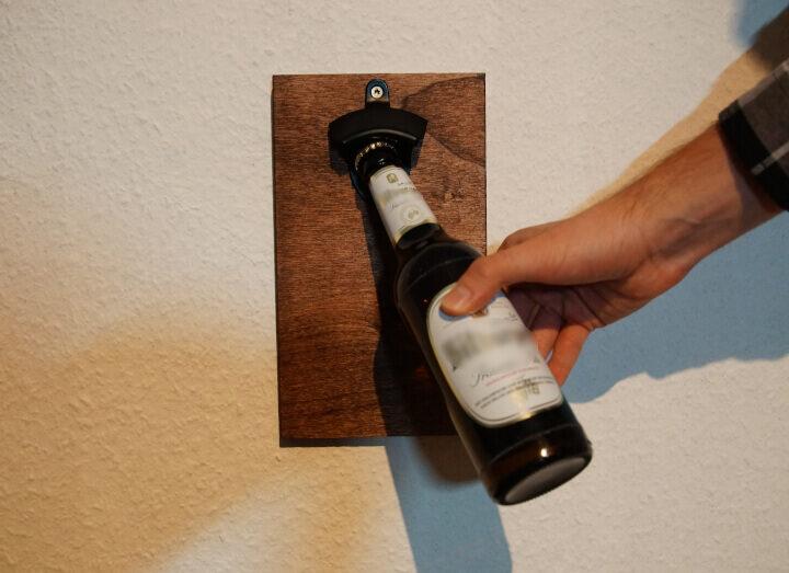 Wand Flaschenöffner