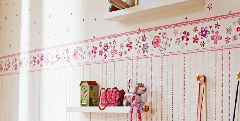 Bordüre für Kinderzimmer