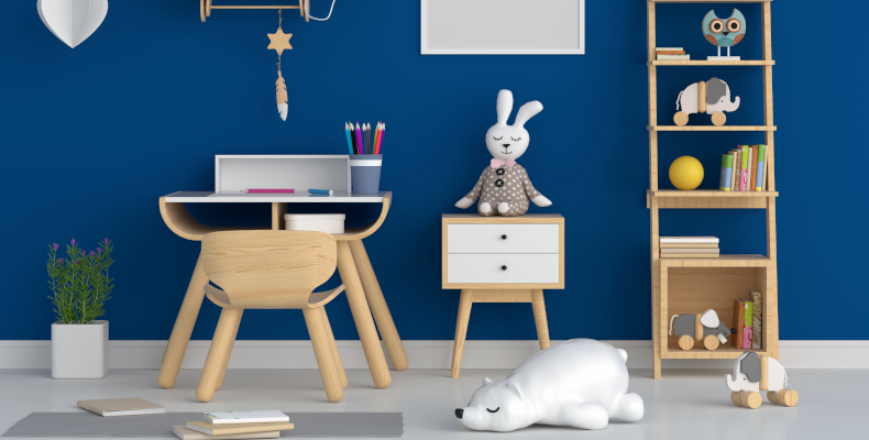 Kinderzimmer Trend Tapete