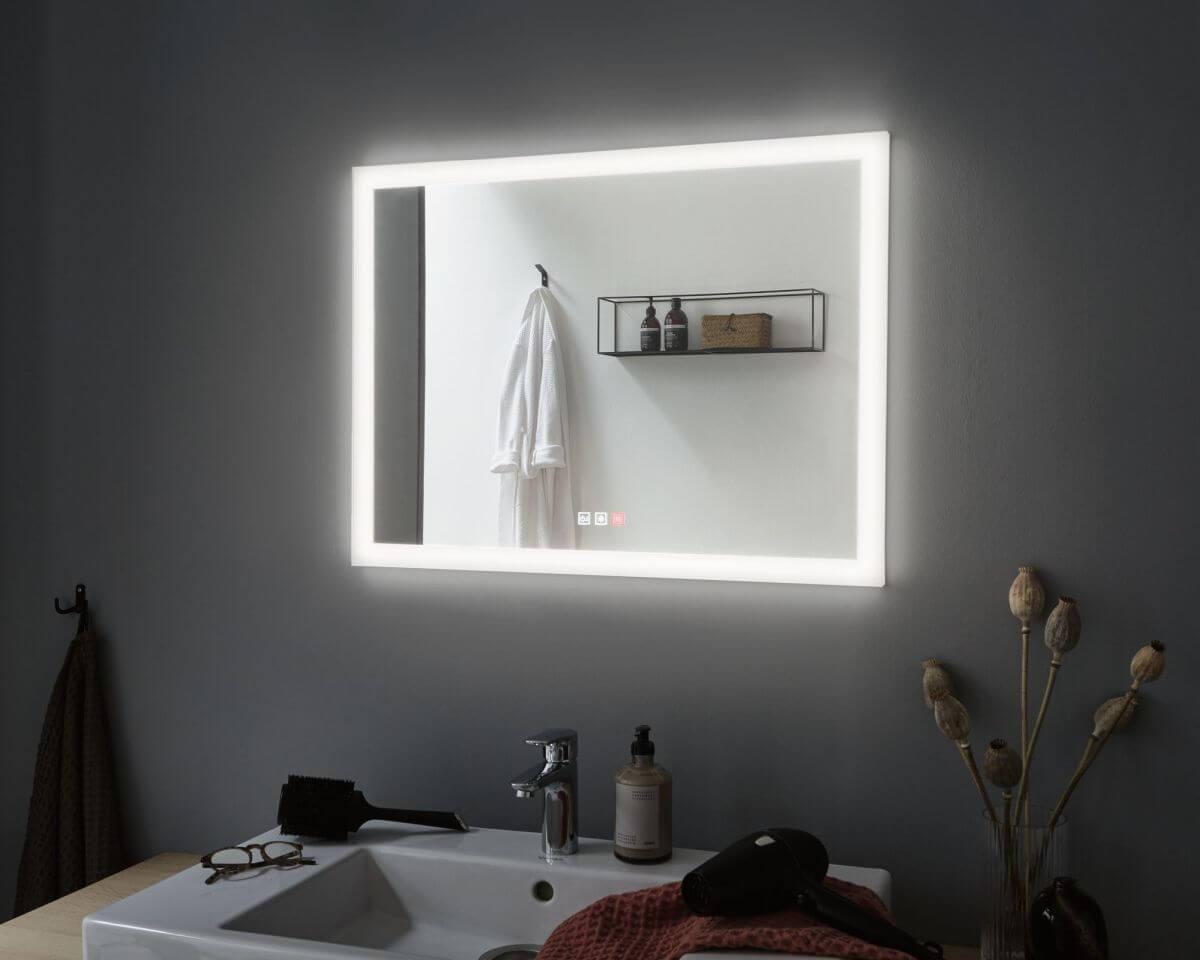 Produkttest Badezimmerspiegel mit Beleuchtung