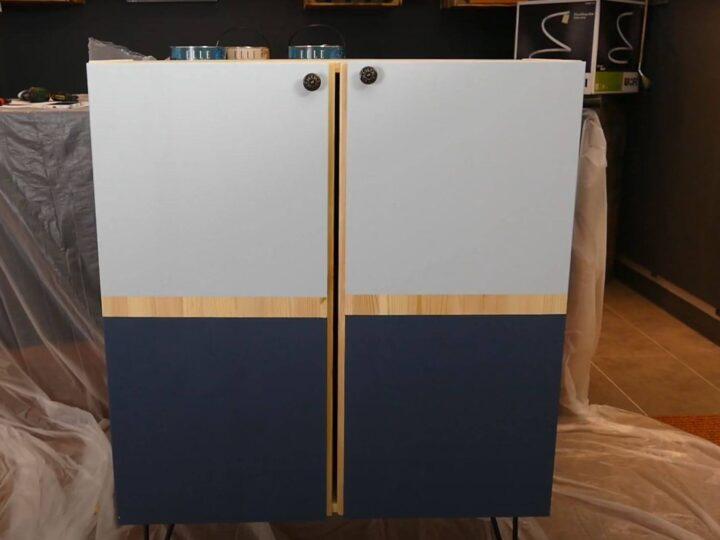 Ikea Ivar Hack mit Elle Wandfarbe