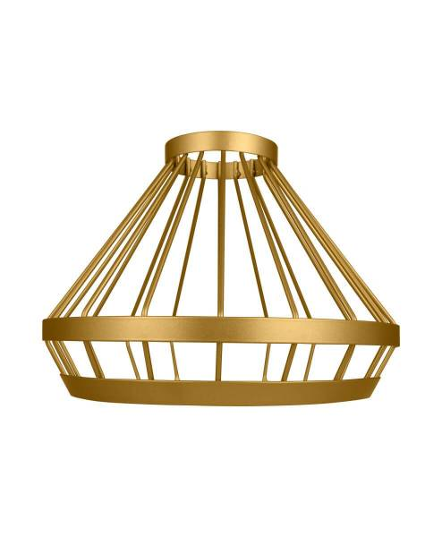 Osram Vintage Edition 1906 Lampenschirm Cage, IP20, Aluminium, Gold  Schwarz Draht-Schirm