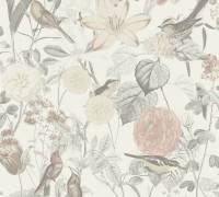 AS Creation Tapete   Blumentapete Grau Rosa   Exotic Life