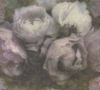 AS Creation Tapete | Blumentapete Weiß Lila Grau | New Walls
