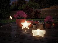 Saisonlicht: Plug & Shine Weihnachten Sterne