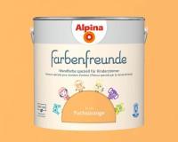 2x Alpina Farbenfreunde günstig im Set Innenfarbe Fuchsorange 2,5 L