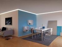 LED Profil Decke
