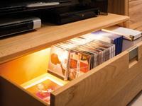 Schrankbeleuchtung Schublade Beispiel