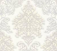 Livingwalls Beige Barock-Ornament Vliestapete Metropolitan Stories 368982