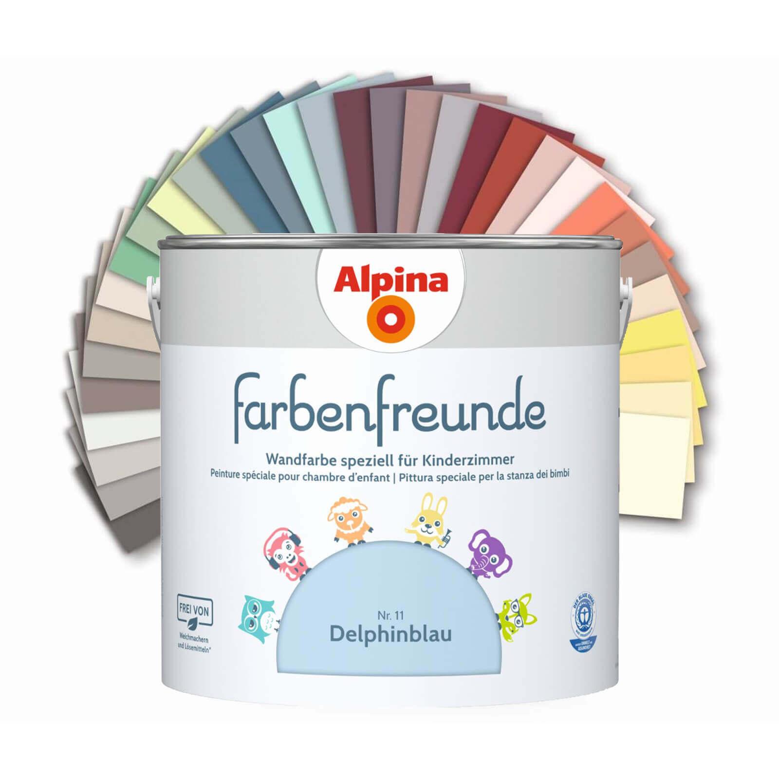 Alpina Farbenfreunde 2 5 L Kinderzimmer Farben Keine Weichmacher Losungsmittel