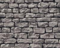 AS Creation Steinmauer Vliestapete Best of Wood`n Stone 2nd Edition, Grau-Stein, Tapete 907929
