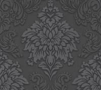 Livingwalls Grau Barock-Ornament Vliestapete Metropolitan Stories 368984