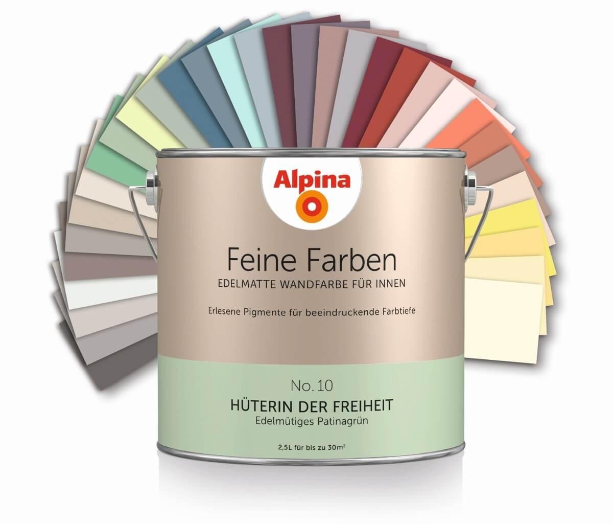 Wandfarbe alpina angebot