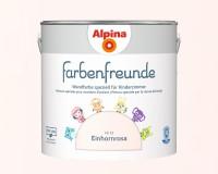 2x Alpina Farbenfreunde günstig im Set Innenfarbe Einhornrosa 2,5 L