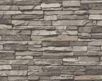 AS Creation Steinmauer Vliestapete Best of Wood`n Stone 2nd Edition, Stein, Tapete 958331