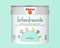 2x Alpina Farbenfreunde günstig im Set Innenfarbe Geckogrün 2,5 L