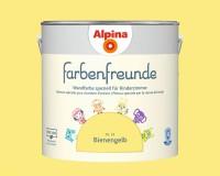 2x Alpina Farbenfreunde günstig im Set Innenfarbe Bienengelb 2,5 L