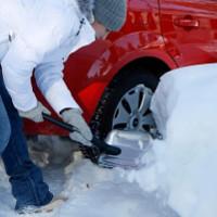 Universalschaufel Fiskars Schnee beseitigen