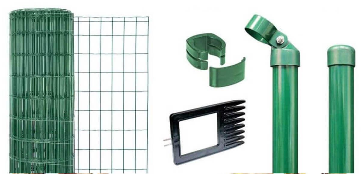 gah set fix clip pro 100 cm x 25 m hxl anthrazit oder gr n. Black Bedroom Furniture Sets. Home Design Ideas