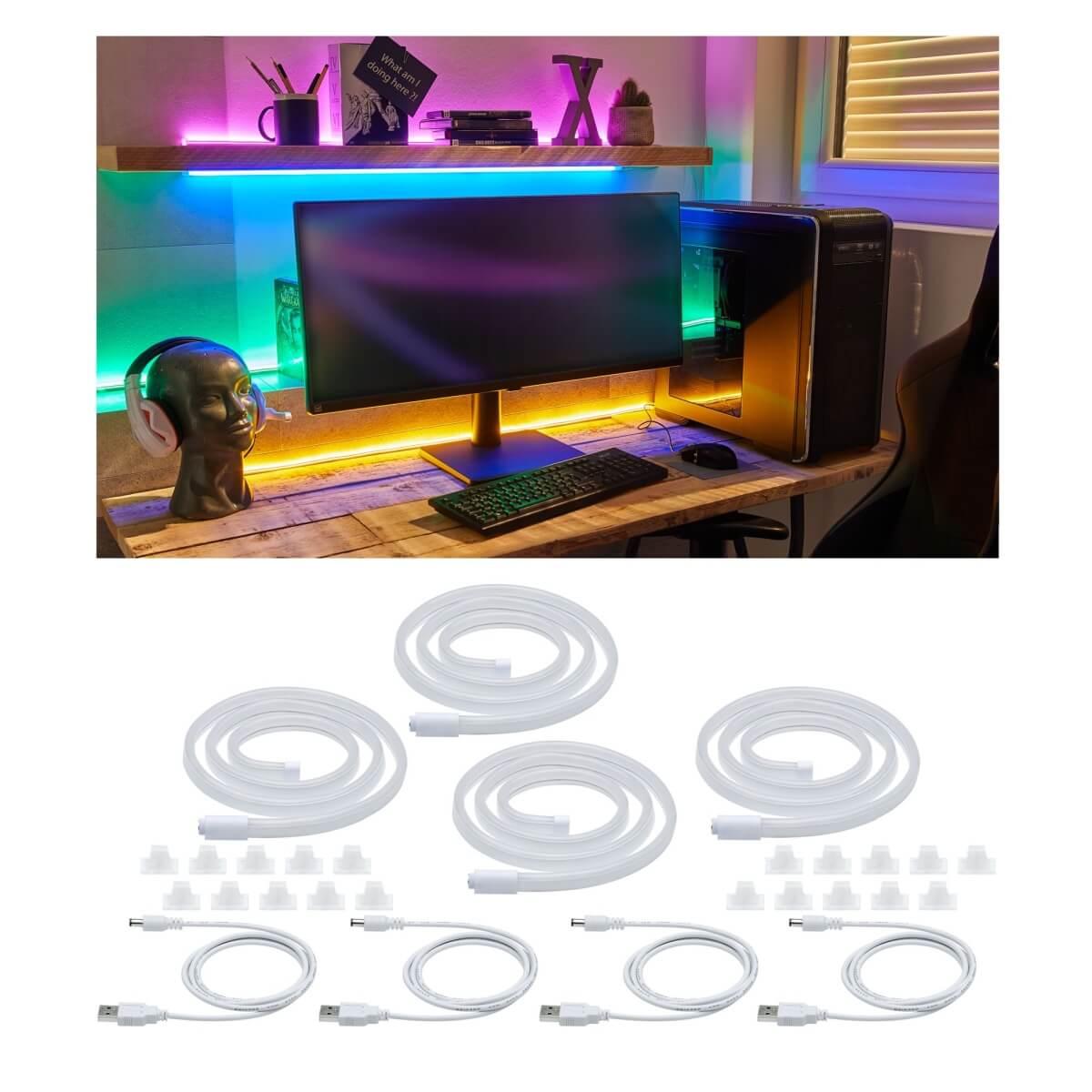 Paulmann FlexLED 3D Basisset warmweiß LED Streifen 5m ab