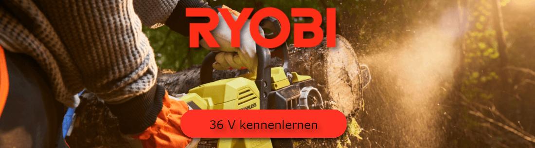 Ryobi 36 V Akku-Gartengeräte