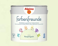 2x Alpina Farbenfreunde günstig im Set Innenfarbe Raupengrün 2,5 L
