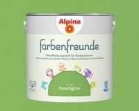 2x Alpina Farbenfreunde günstig im Set Innenfarbe Froschgrün 2,5 L