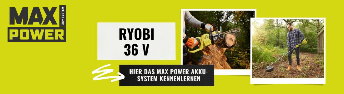 Ryobi 36 V Power System